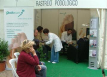 A Podocare na 5ª edição da Semana da Saúde 2009 – VIVA +, em Oeiras