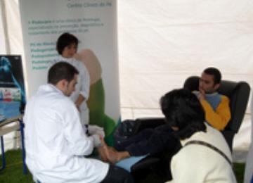 A Podocare na iniciativa Queijas ComVida - Rastreios de Saúde 2010